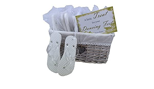 bec3e7a7c Amazon.com  Wedding Party Flip Flop Guest Gift Basket 20 pairs by MODO   Health   Personal Care