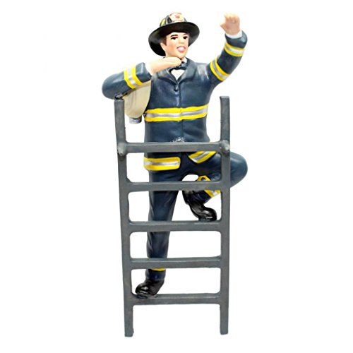 To the Rescue Fireman Groom Figurine