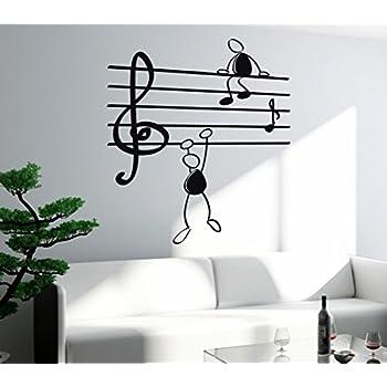 Amazoncom Vinyl Decal Wall Sticker Microphone MIC Karaoke Music - Custom vinyl wall decals falling off