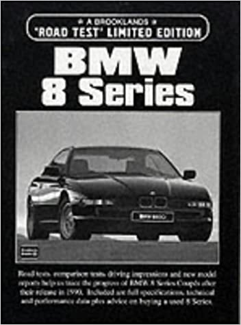 Bmw 8 Series Road Test (Road Test Limited Edition)