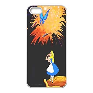 James-Bagg Phone case Alice in Wonderland Protective Case For Apple Iphone 5 5S Cases Style-8