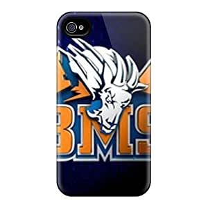 New Rewens Super Strong Blue Mountain State Tpu Case Cover For Iphone 4/4s