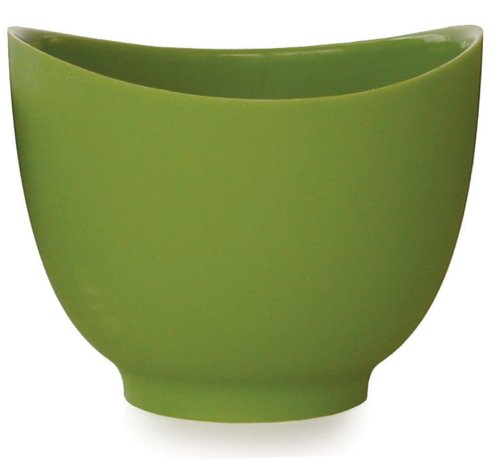 (iSi Basics Flexible Silicone Mixing Bowl, 1.5 Quart, Wasabi)