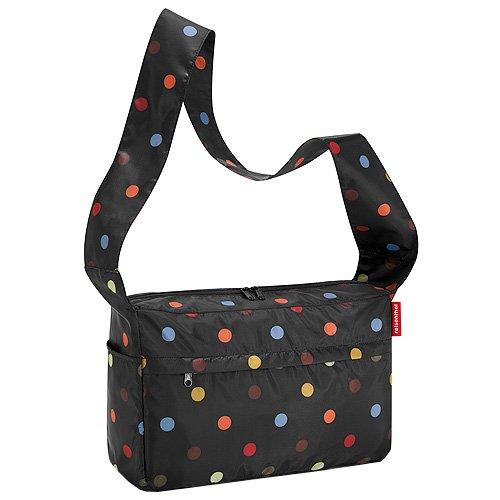 Reisenthel Al7009 Borsa Messenger, 21 cm, 9 litri, Colore Dots