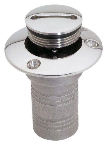attwood Enhanced Stainless Steel Alloy Deck Fill (Gasoline, - Fill Deck Water Hose