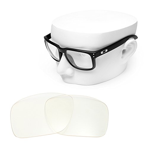 OOWLIT Replacement Sunglass Lenses for Oakley Holbrook HD - Clear Holbrook
