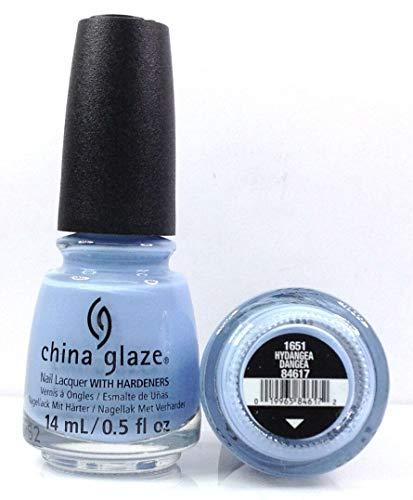 China Glaze Nail Lacquer -The Arrangement Spring 2019 - Pick Color .5oz (1651 - Hydrangea Dangea) China Glaze Nail Color