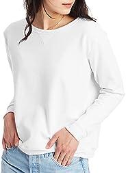 Hanes Women's V-Notch Pullover Fleece Sweats