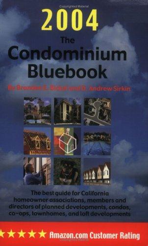 Download The Condominium Bluebook for California, 2004 Edition PDF