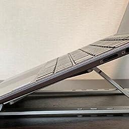 Amazon Co Jp Dodolive 折りたたみ式 ノートパソコンスタンド Bx6 パソコン 周辺機器