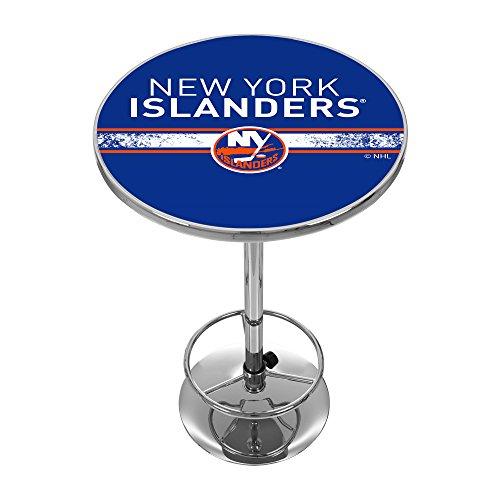 Trademark Gameroom NHL New York Islanders Chrome Pub Table