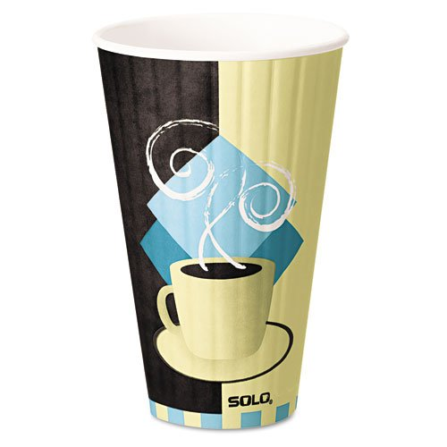 Solo Duo (SLOIC20 - Solo Duo Shield Hot Insulated 20oz Paper Cups)