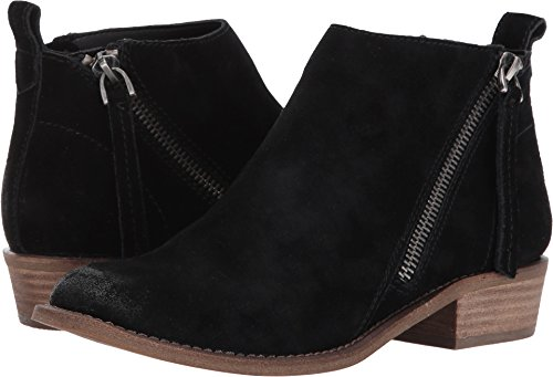 Dolce Vita Women's Sibil Ankle Bootie, Black Suede, 6.5 M US by Dolce Vita
