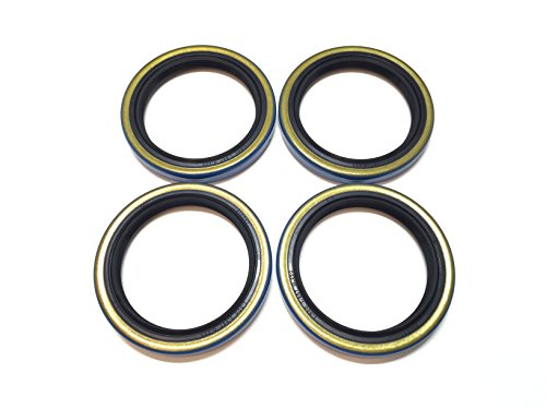 1.500 for 2000# EZ Lube Axles Grease Seal 15192TB I.D 1 1//16-Inch WPS Trailer Hub Wheel Bearing Kits L44649 L44610 Spindle 1.063