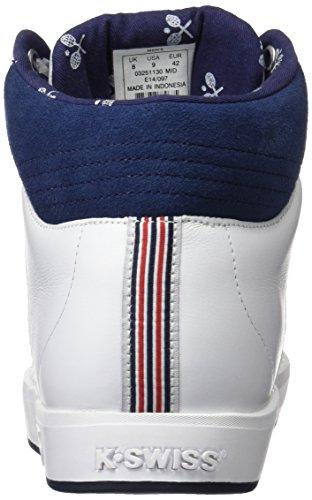 K-Swiss Herren Sneaker Weiß / Blau