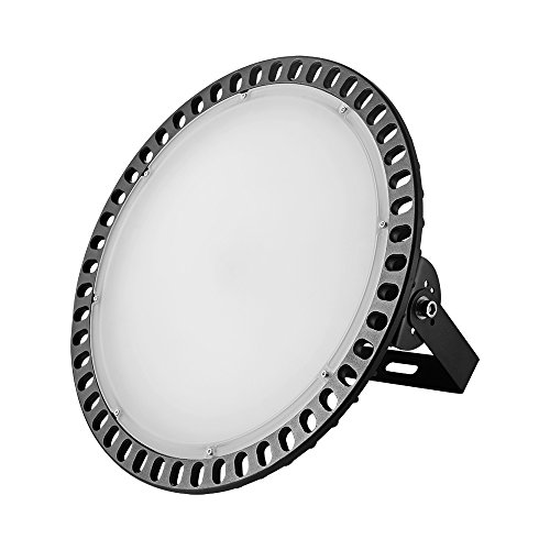 300W UFO High Bay LED Lighting,Getseason Super Bright Commercial Lights,Commercial Grade Area Ultra Thin and Efficient for Warehouse Workshop Hanging Lighting Fixtures (1) by Getseason (Image #1)