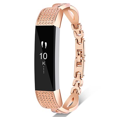 VOMA Metal Bands For Fitbit Alta HR and Alta, Design Stainless Steel Wristbands/Replacement Bands/Accessories for Fitbit Alta HR and Alta