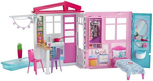 barbie folding house - 7