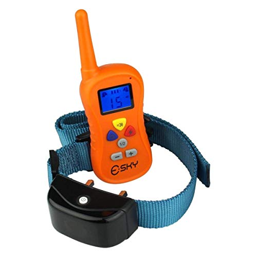 Esky 330 Yards Remote E-collar Waterproof Dog Training Collar Beep Vibration Shock