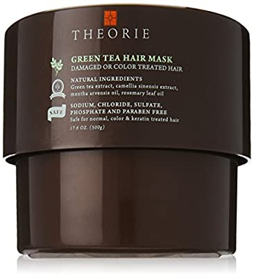 Theorie Green Tea Energizing Hair Mask, 17.6 fl.oz.