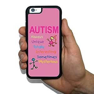 "iPhone 6 Slim Protective Case - Autism Awareness - ""A-U-T-I-S-M"