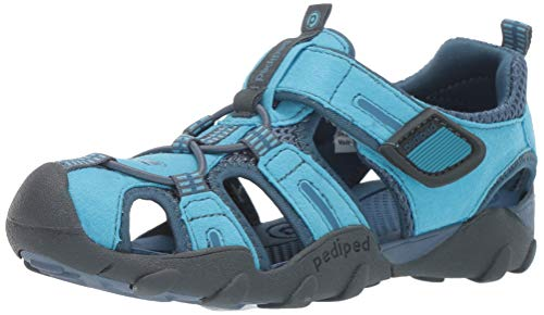 pediped Boy's Canyon Sandal Electric Blue