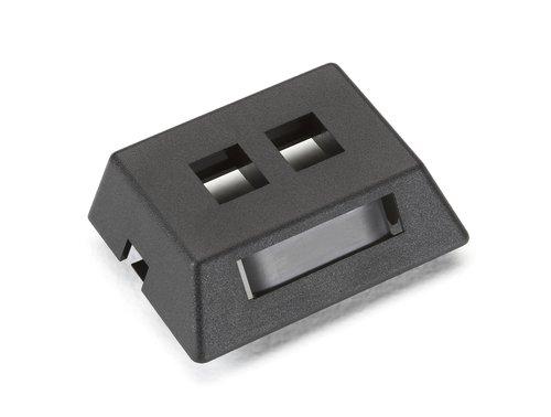 Black Box WPT459-MF GIGABASE2 MODULAR FURNITURE FACEPLATE, ()
