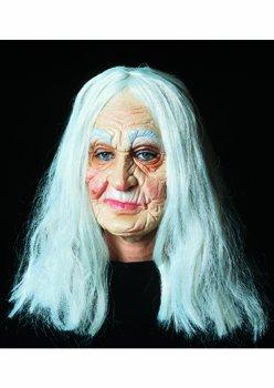Grossmutter Alte Oma Maske Karneval Fasching Frau Hexe Amazon De