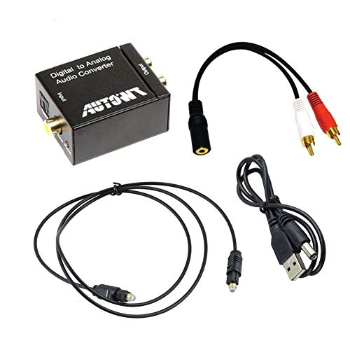 AutoWT Digital Coaxial Toslink