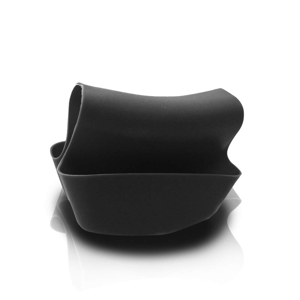 Utility Sink Caddy Double Black Saddle Style Kitchen Organizer Storage Sponge Holder Will Hold Sponges and Other Important Items You Need at Hand While Working at The Kitchen Sink Made of Plastic Bla