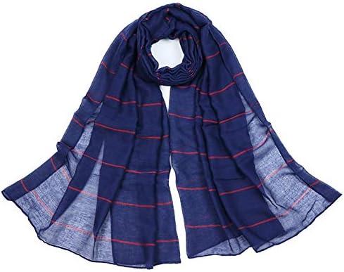 Kentop Mujer Raya Bufanda de TR algodón Femenino de Chal Elegante Mantón: Amazon.es: Hogar