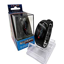 Go-tcha Evolve LED-Touch Wristband Watch for Pokemon Go with Auto Catch and Auto Spin - Black/Grey