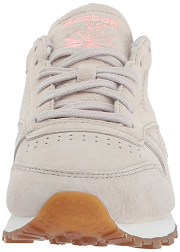 Reebok Women's CL Lthr Eb Fashion Sneaker Sand Stone/Chalk/Sour Mel discount 2014 unisex cheap clearance low shipping fee sale wide range of FJOF0