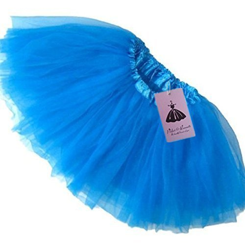 Girls Ballet Tutu Neon Blue