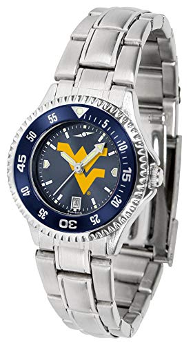(West Virginia Mountaineers - Competitor Ladies' Steel AnoChrome - Color)