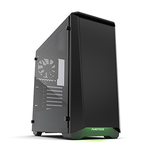 Phanteks PH-EC416PSTG_BK Eclipse P400S Silent Edition with Tempered Glass, Satin Black Cases