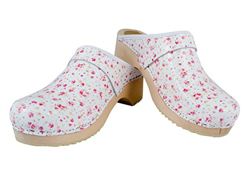MB Clogs Standard Model Mini Summer Flower clogs - Zuecos para mujer
