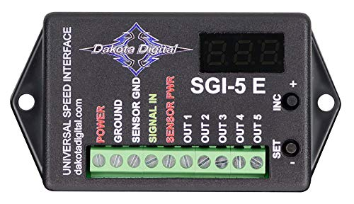 Dakota Digital SGI-5E *Latest Design* - Universal Speedometer Signal Interface Controller