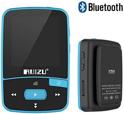 RUIZU X50 Mini MP3 MP4 Music Player 8GB Bluetooth HiFi Lossless Radio//FM//TF Card