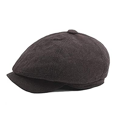 3c215e554ac86 ... BABEYOND Newsboy Hat Cap for Men Women Gatsby Hat for Men 1920s Mens  Gatsby Costume Accessories