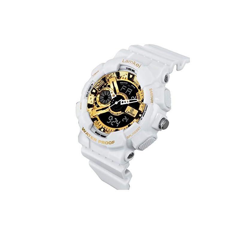 41CTL  uamL. SS768  - Lamkei Analogue - Digital Black Dial Men's Watch
