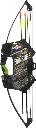 Barnett Outdoors Junior Team Realtree Lil Banshee Compound Archery Set (Compound Bow Target Sights compare prices)