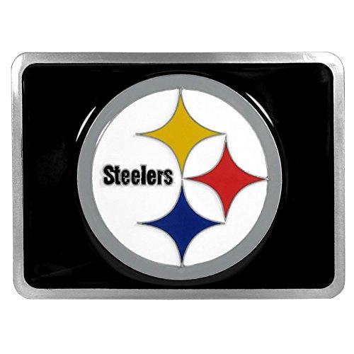 - Siskiyou Pittsburgh Steelers NFL Hitch Cover, Class II & III