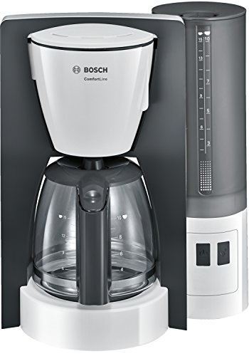 Bosch Comfort Line TKA6A041 – Cafetera de filtro / goteo, 1200 W, color gris