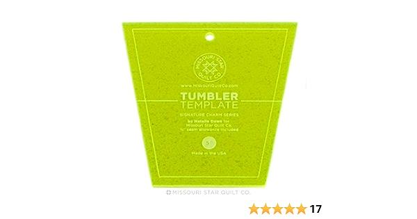 4 ITEM SEWING ACCESSORIES BUNDLE =  TRIMMING TOOLS MEASURE TUMBLER TEMPLATES