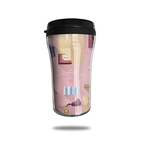 Grand Budapest Hotel Wall Insulated Seal Shake Tumbler Cup For Hot Or Cold (Budapest Hotel Costume)