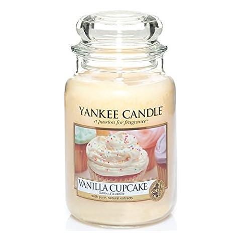 Yankee Candles Large Jar Candle - Vanilla Cupcake