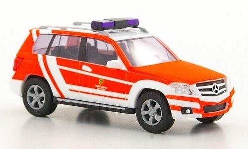 Mercedes GLK-Class, Fire department Leipzig , 2009, Model Car, Ready-made, Busch 1:87