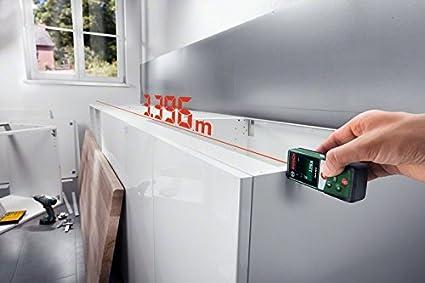 Bosch laser entfernungsmesser plr40c 2 x aaa batterien messbereich