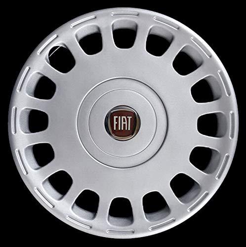 CODICE 1259 LR Logo Rosso Diametro 15 Generico Fiat Multipla COPRICERCHIO BORCHIA Uno 1